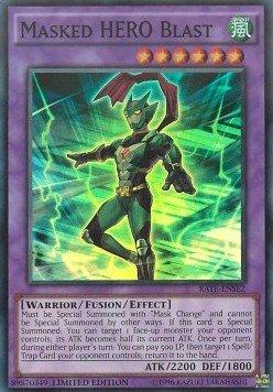 Maskierter Held Blast - RATE-DESE2 - Super Rare