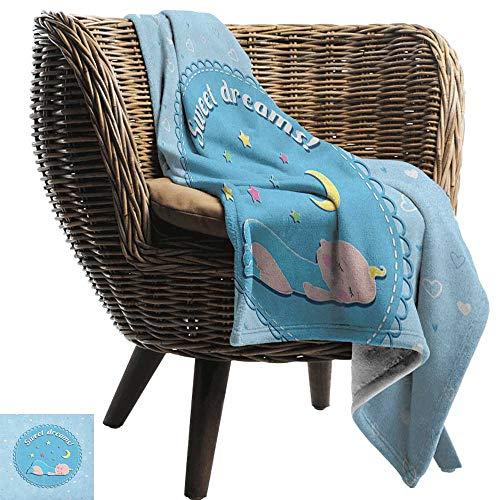 ZSUO dikke gebreide deken Sweet Dreams, liefde om te slapen knuffelen armen minimalistische simplistische Illustratie houtskool grijs lichtblauw gooien lichtgewicht zachte microvezel massief deken