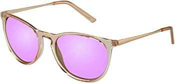 JOJEN Polarized Vintage Round Sunglasses for Women