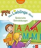 Klett Mein Lieblings-Block Spielerische Schreibübungen: Vorschule ab 5 Jahren. Das kannst du alleine!