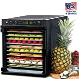 Tribest Sedona Express SDE-S6780-B Digital Food Dehydrator, Black with Stainless...