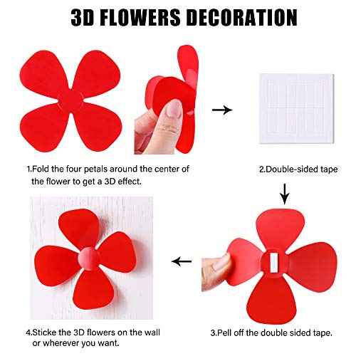 3d wall decals flowers _image4