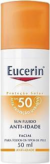 Protetor Solar Anti-Idade FPS 50, 50 ml, Eucerin