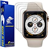 ArmorSuit [6 Pack] MilitaryShield Screen Protector for Apple Watch Series 4/5...