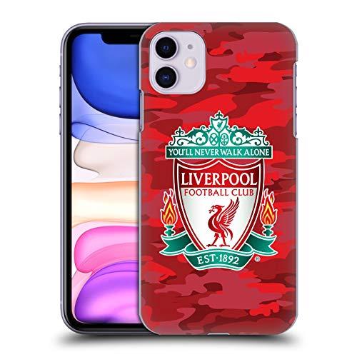 Head Case Designs Offizielle Liverpool Football Club Home Crest Farben Camou Harte Rueckseiten Handyhülle Hülle Huelle kompatibel mit Apple iPhone 11