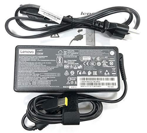 Lenovo 20V 6.7A 135W Slim Tip AC Adapter for Lenovo ideapad Z710 Ideapad Y50-70 Thinkpad t440p t450p t460p t530 t540 t540p t560 w510 ADL135NDC3A