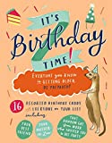 It's Birthday Time Greeting Assortment Boxed Notecards