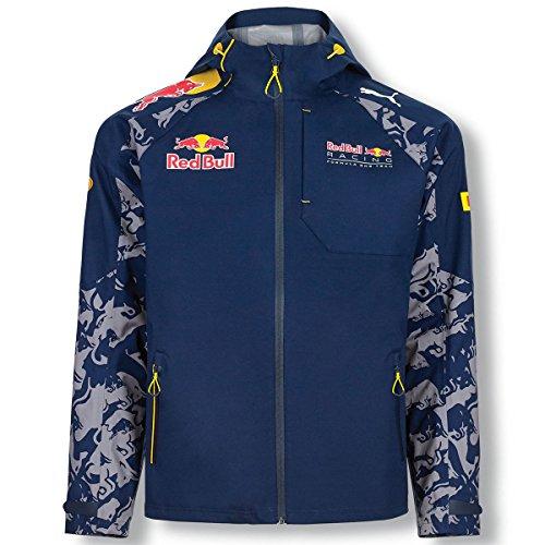 Red Bull - Chaqueta Impermeable - para Hombre Bleu - Bleu M
