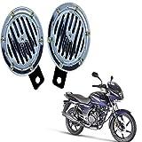 RWT Silver Crome Bike Horn For Bajaj Pulsar 150