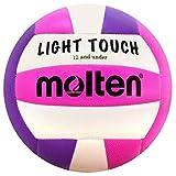 Molten MS240 Light Touch Volleyball, Purple/Pink, 12 & Under/8.1 oz (MS240-VP)