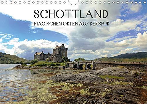 Schottland - magischen Orten auf der Spur (Wandkalender 2021 DIN A4 quer)