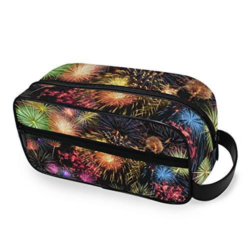 Travel Box Make-up Bag Kleurrijke aanstekers cosmetische trekkoffer opslag draagbare toilettas