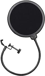 Takelablaze ポップガード ポップブロッカー コンデンサーマイク マイクスタンド 二重張り ノイズ防止 ネット直径15.5cm