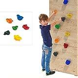 6er Set Klettersteine für Spielturm oder Kletterwand aus PE inkl. Befestigungsmaterial