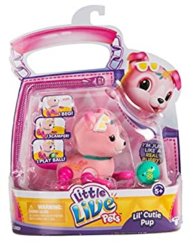 Little Live Pets Lil  Cutie Pups Season 2 Single Pack - Shine Apple