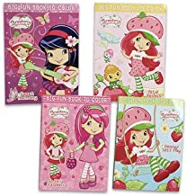 Strawberry Shortcake Coloring Book - 4 Astd.
