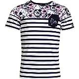 Religion Rugby - T-Shirt Marinière Skull Flower - L