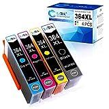 LxTek Kompatibel für HP 364 XL 364XL Druckerpatronen für HP Deskjet 3070A 3520 Officejet 4620 4622...