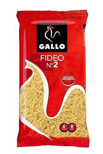 Pastas Gallo Fideos Nº2 250gr