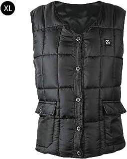 Favourall eléctrica Chaleco, Unisex Ligero Aislado calefactables Chaleco, USB Carga beheizter Ropa Cálido Vest