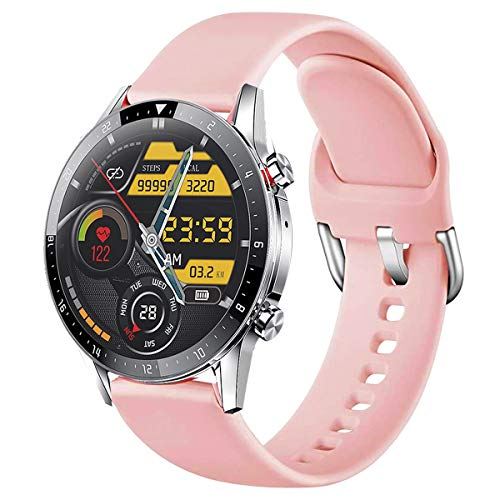 [Updated] feifuns Smart Watch for Android iOS Phone(Music/Storage Playback, Receive/Make Call) Health Fitness Tracker Heart Rate Blood Pressure Sleep Tracker IP67 Waterproof SmartWatch for Women Electronics Features Smartwatches