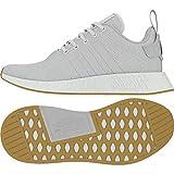Adidas NMD_R2, Zapatillas de Deporte Niño, Gris (Griuno/Gridos/Limsol 000), 38 EU