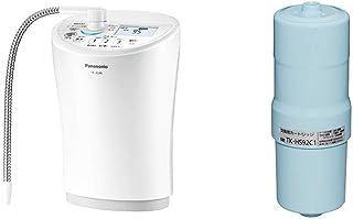 【セット買い】パナソニック アルカリイオン整水器 パールホワイト TK-AS46-W & 還元水素水生成器用カートリッジ 1個 TK-HS92C1
