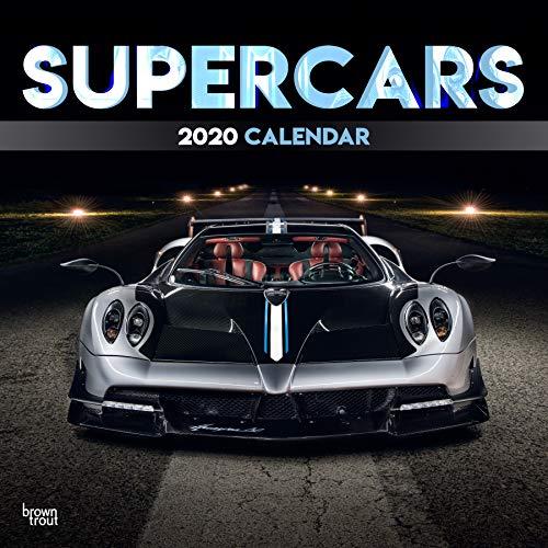 Supercars 2020 - 16-Monatskalender: Original BrownTrout-Kalender [Mehrsprachig] [Kalender] (Wall-Kalender)