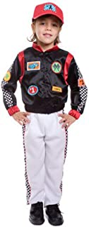 Kids Race Car Driver Costume By Dress Up America - Toddler T2