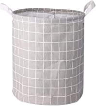 Round Dirty Laundry Basket Foldable Home Storage Laundry Hamper for Baby Toys Dirty Clothes