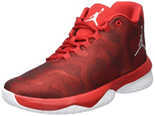 Nike Nike Damen Jordan B. Fly Bg Basketballschuhe, Rot (University Red/White), 40 EU