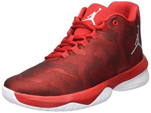 Nike Nike Mädchen Jordan B. Fly Bg Basketballschuhe, Rot (University Red/White), 40 EU