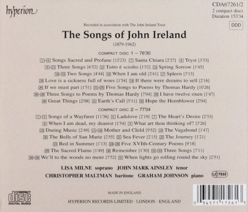 The Songs of John Ireland