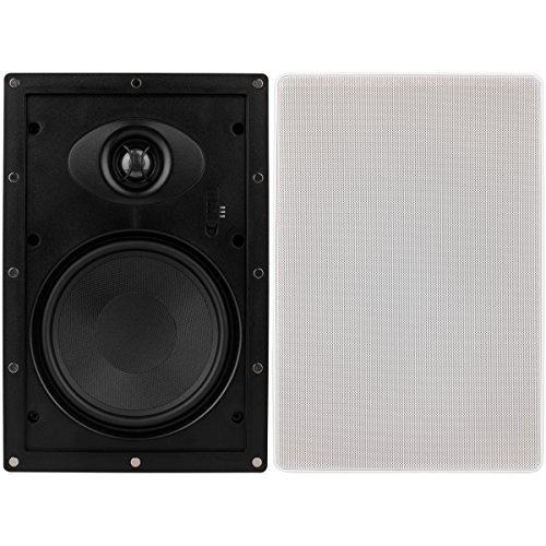 "Dayton Audio ME625W 6-1/2"" Micro-Edge 2-Way in-Wall Speaker Pair"