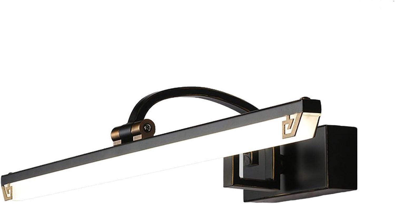 Led Spiegel Scheinwerfer Wasserdicht Nebeleisen Kunst Led Spiegel Licht Retro Einfache Hotel Schlafzimmer Flur Kommode Make-Up Lichter (gre   45cm9w)