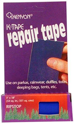 Kenyon Ripstop Pressure Sensitive Repair Tape, Royal