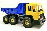 Camión volquete gigante de 65 cm de 3 ejes.