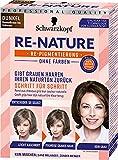 Re-Nature Re-Pigmentierung Haarfarbe Women Dunkel Dunkelbraun bis Schwarz, 3er Pack(3 x 145 ml)