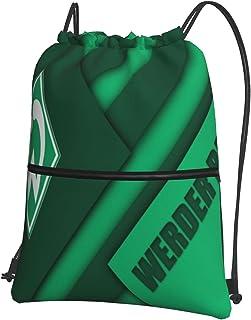 Wer-Der Brem-En Bedruckte Sporttasche Sporttasche Reisetasche Schuhtasche Rucksack Einkaufstasche Kordelzug ReiVerschluss Rucksack