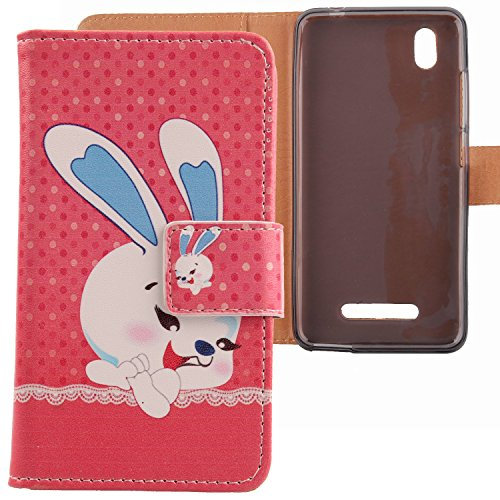 Lankashi PU Flip Leder Tasche Hülle Hülle Cover Schutz Handy Etui Skin Für ZTE Blade A452 5