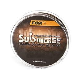 Ligne à carpes tressée Fox Submerge Sinking Braided Mainline – 300m., 0,20 mm