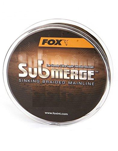 FOX Submerge Sinking Braided Mainline geflochtene Karpfenschnur 300m, Durchmesser:0.16mm
