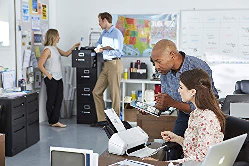 Brother ads-2200Dokumenten-Scanner Desktop mit Duplex, Weiß