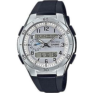 """[カシオ] 腕時計 ウェーブセプター 電波ソーラー WVA-M650-7AJF ブラック"""""""