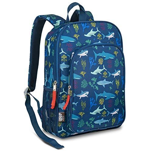 LONECONE Kids School Backpack for Boys & Girls - Sized for Kindergarten, Preschool - Shark School