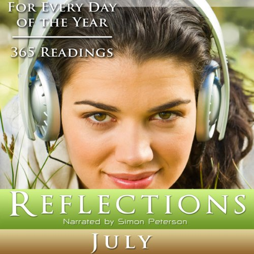 Reflections: July audiobook cover art