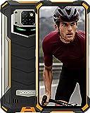 DOOGEE S88 Plus (2021) Móvil 10000mAh, 8GB+128GB Moviles Resistente Antigolpes, Cámara Triples 48MP+Cámara Frontal 16MP, IP68 IP69K Telefono, 6.3�FHD, Soporte Carga Inalámbrica, LED/NFC, Naranja