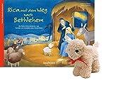 Rica auf dem Weg nach Bethlehem - mit Stoffschaf:...