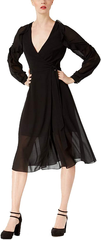 Rachel Rachel Roy Ruffled Wrap Dress