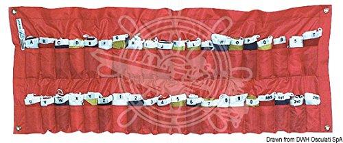 Osculati Gran Pavese Flagge 30 x 42 cm